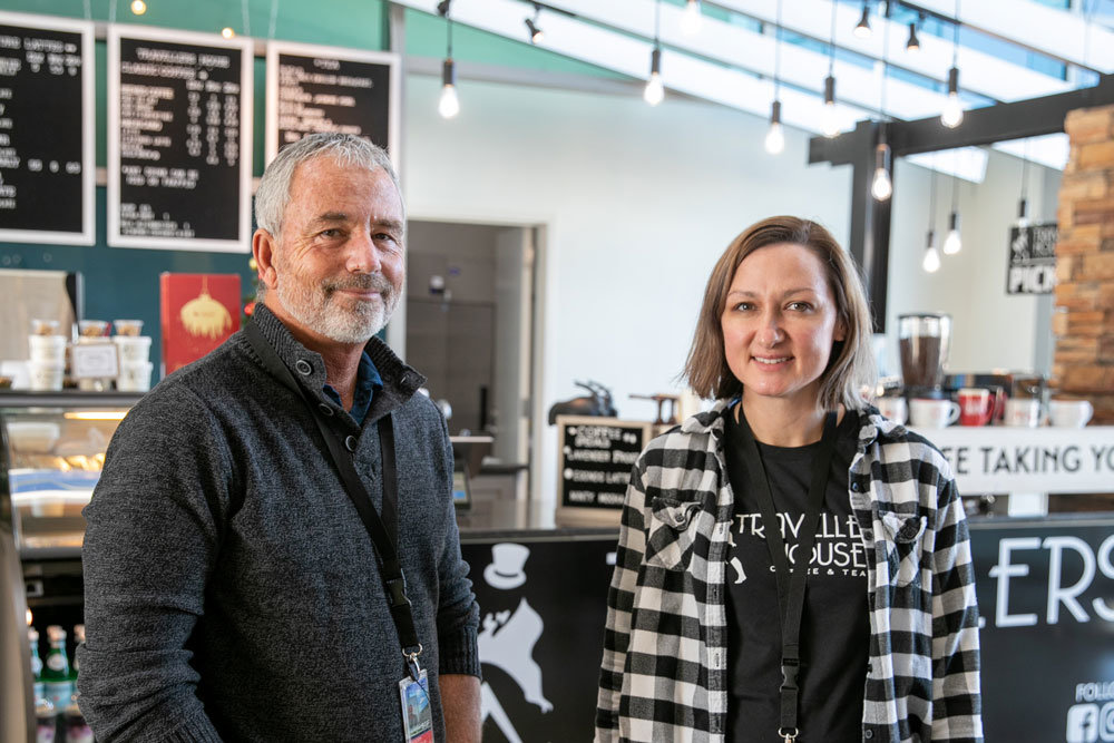 Greg Venturella and Hannah Vale, Travellers House Coffee LLC