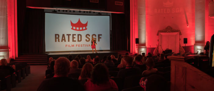 The Rated SGF Film Festival is held at the Fox Theatre downtown.