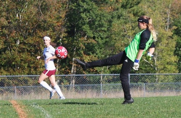 Sullivan West's Riley Ernst will inhabit the net again for the Lady Bulldogs. A great athlete with lightning quick reflexes, Ernest will be tough to beat in goal.