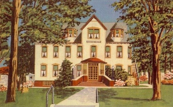 The original Maimonides Hospital in Liberty.