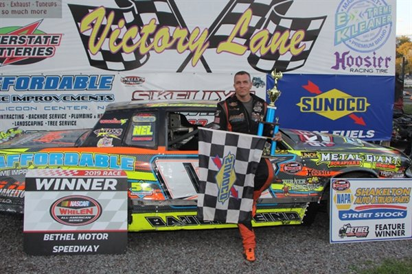Feature Winner of the Dick Crumley's 7X Street Stock Feature; Brian Bauernfeind