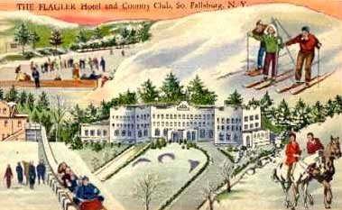 Fallsburg's Flagler Hotel was among the first of Sullivan County's Golden Age hotels to open year around.
