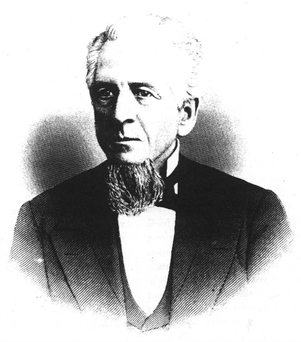 Judge Charles R. Ingalls presided over the 1869 murder trial of Noah Bigelow in Oyer and Terminer Court.