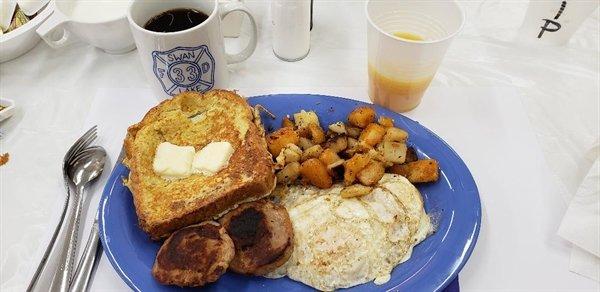 SLFD French Toast Breakfast