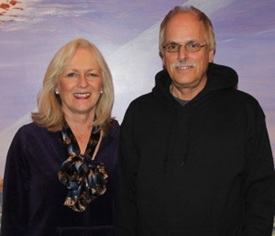 Rev. Kathy and the Rev. Dr. Rich Ienuso of the Liberty based Lighthouse Ministries Church.