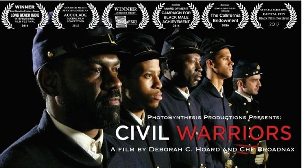 """The award-winning 2016 film, """"Civil Warriors"""" is about the 26th U.S.C.T, in which a number of Sullivan County soldiers enlisted."""