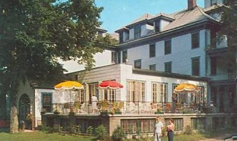 The Columbia Farm in Hurleyville was among many Sullivan County hotels modernizing and expanding in the 1950s. This addition was added in 1956.