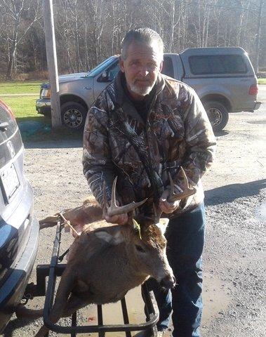Fred Schneider took this buck in Callicoon that scored 56.5.
