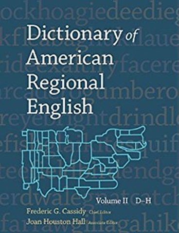 Dictionary of American Regional English was created by Jamaican linguist and lexicographer Frederic Gomes Cassidy and his researchers.