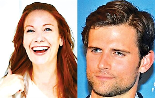 Barryville's own and Broadway star Erin West (at left) who has appeared in the musicals 42nd Street and the Grand Ole Opry and the Emmy award winning series The Marvelous Mrs. Maisel along with fellow Broadway actor and performer Kyle Dean Massey (at right) of Wicked, Pippin and the TV drama Nashville will be the celebrity hosts for the 7th Annual Greater Barryville Chamber of Commerce Tree Lighting on Saturday, December 5th starting at 7 p.m.