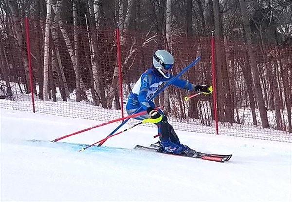 Monticello's Jack Rein was this year's Section 9 champion with a combined time of 62.99 in the Slalom and Giant Slalom races.