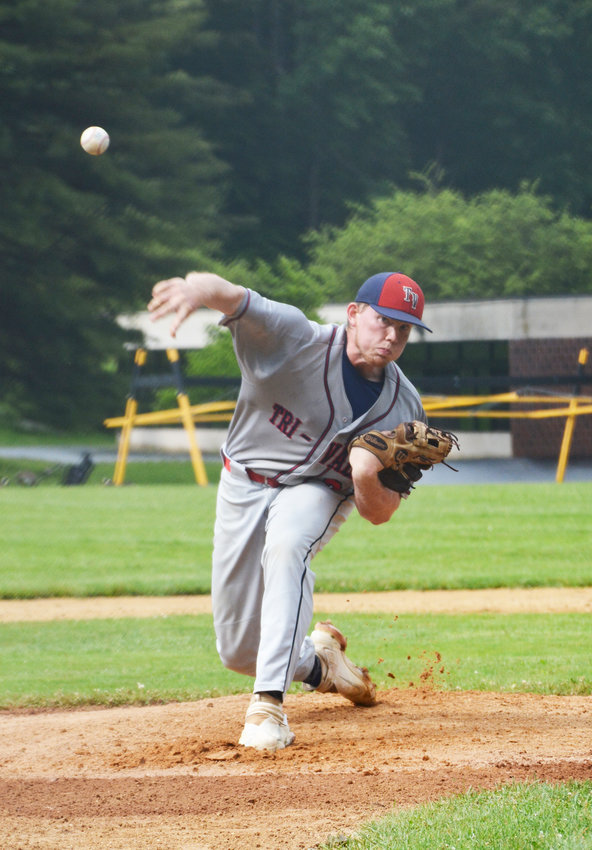 Jacob Yager struck out 14 batters in Tuesday's playoff win.