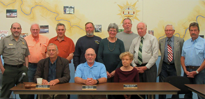 The Upper Delaware Council 2021 officers and board members.