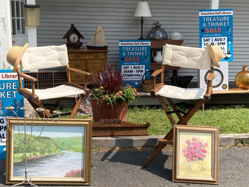 Collectibles, camping gear, appliances, tools, artwork, jewelry, small furniture, children's toys and much more will be available at bargain prices.