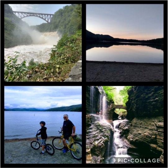 Letchworth, Moreau, Roger's Rock and Watkins Glen State Parks 2021.