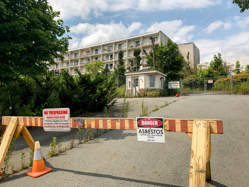 The fate of the  Grandview Palace Condominiums is still unknown as the Town of Fallsburg moves forward with obtaining the site.