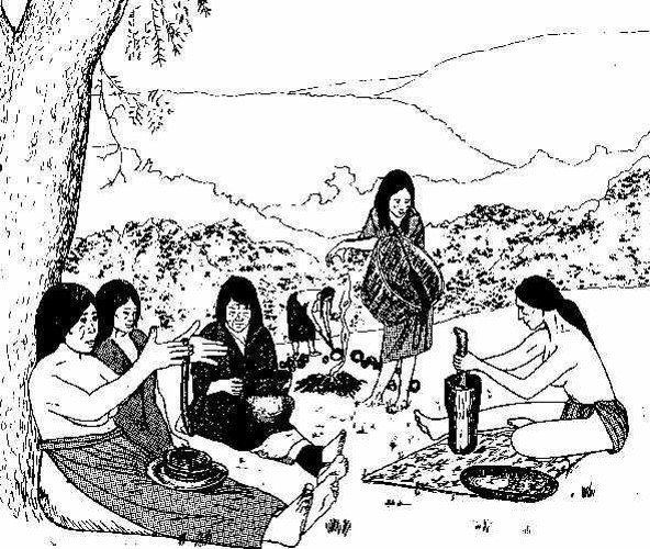 Many of the Lenape healers were women, who carefully gathered, prepared, and administered herbal remedies.