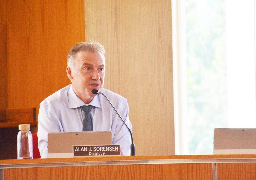 Legislator Alan Sorensen speaks of the consequences of direct-to-consumer pharmaceutical advertising.