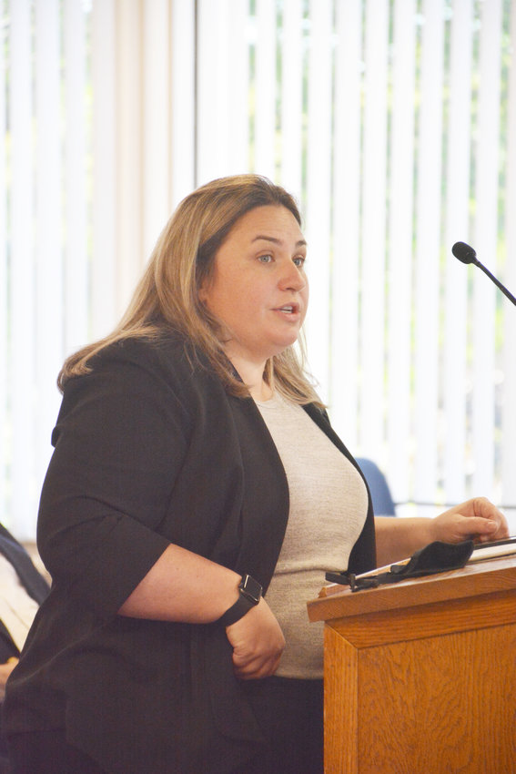 District Attorney Meagan Galligan gave an update on felony arrest numbers and violent crime at the Public Safety and Law Enforcement Committee meeting on Thursday. She also expressed an immediate need for more ADAs.
