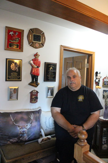 Joe Costa was among the many New York City police officers who responded to the World Trade Center on 9/11.