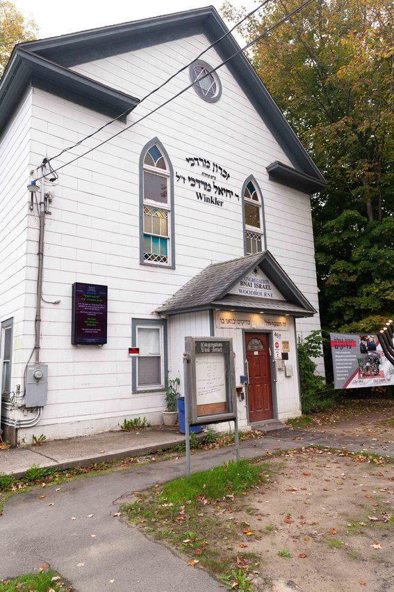 An arrest has been made in connection with a paintball incident that happened at the Woodbourne Shul on State Route 52.