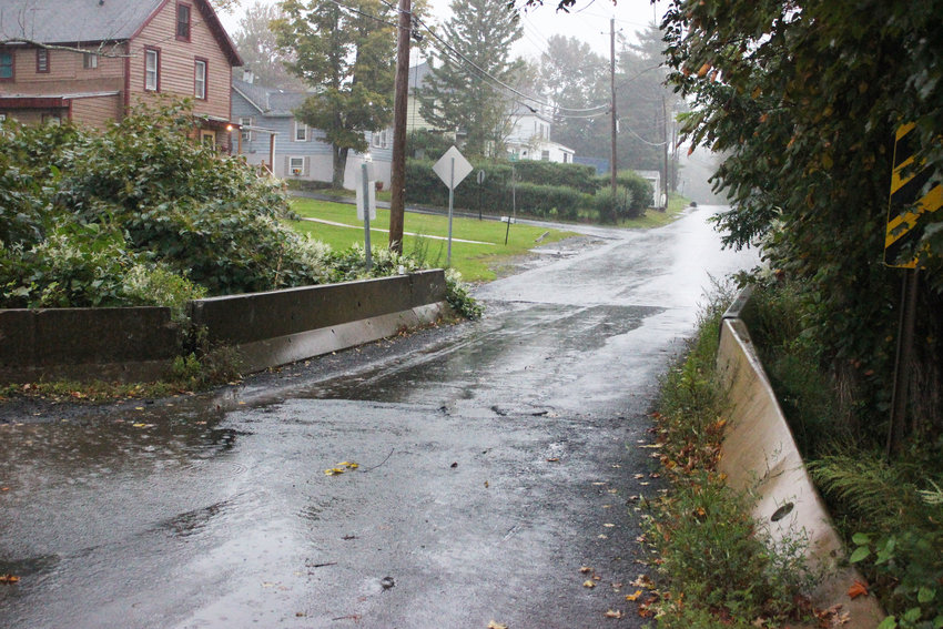 Waverly Avenue Bridge in the village of Monticello has become severely deteriorated.