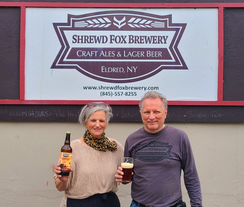 Cindy and Bill Lenczuk, the owners of the Shrewd Fox Brewery in Eldred, will be holding an Uktoberfest on Saturday October 2nd in the Brewery's Beer Garden from Noon-5pm. The festival will highlight their award winning craft beers, natural hard ciders and Ukrainian food.