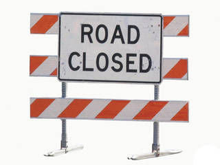 Road Closure logo