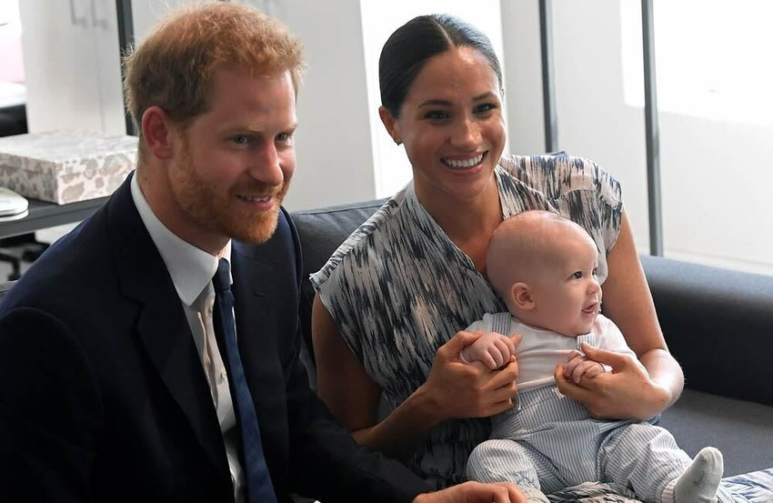 Archie keeps crashing Prince Harry and Duchess Meghan's Zoom calls