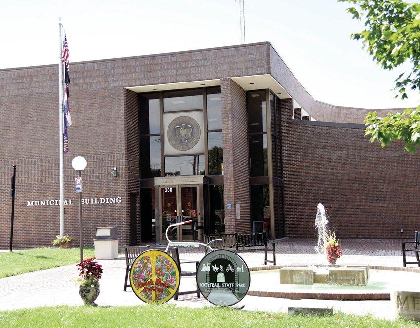 Sedalia Municipal Building stock photo