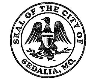 Sedalia city seal logo