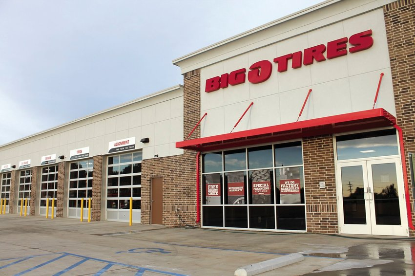 Big O Tires, 4106 W. Broadway Blvd., opened last week and will celebrate with a grand opening Friday, Aug. 28.