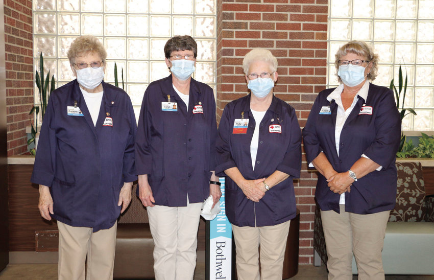 American Red Cross volunteers returned to the hospital on June 22. Bothwell Regional Health Center had suspended all volunteer operations during the COVID-19 pandemic.