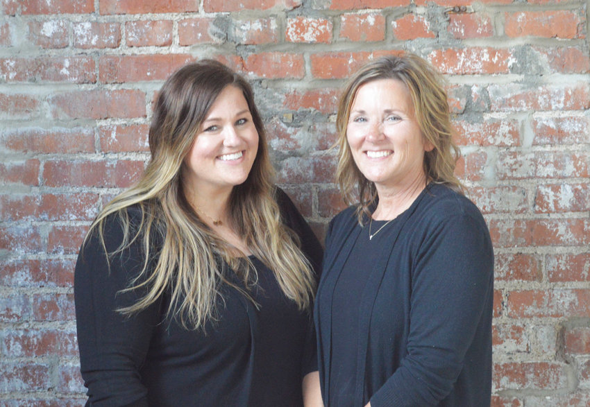 Owner Virginia Siegel, right, and her daughter Jordyn Embree stand in the new Foundry 324 Wedding and Event Venue in downtown Sedalia.