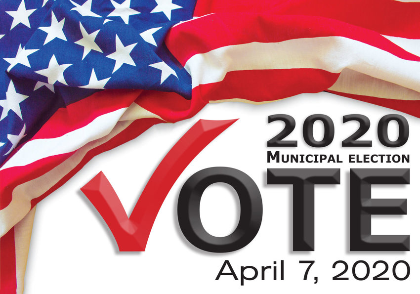 April 7 municipal election logo