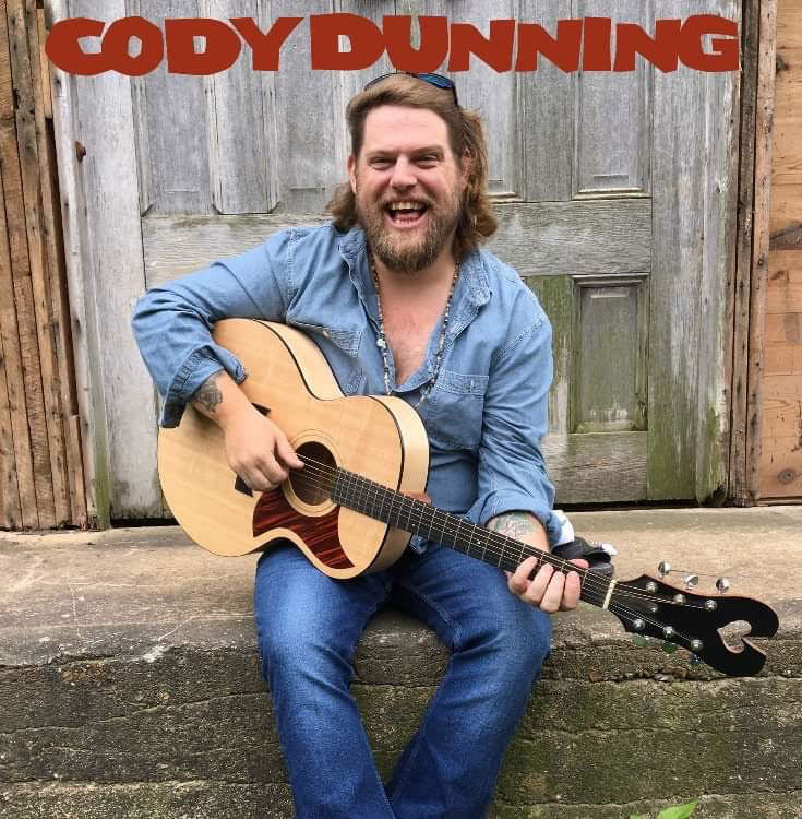 Cody Dunning, who has a new album out, will be one of four performers participating in the NoBro 201 Live Music Show Saturday, Feb. 1 at the Hayden Liberty Center.