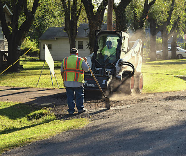 Sedalia Public Works recycles roads with street reclamation project