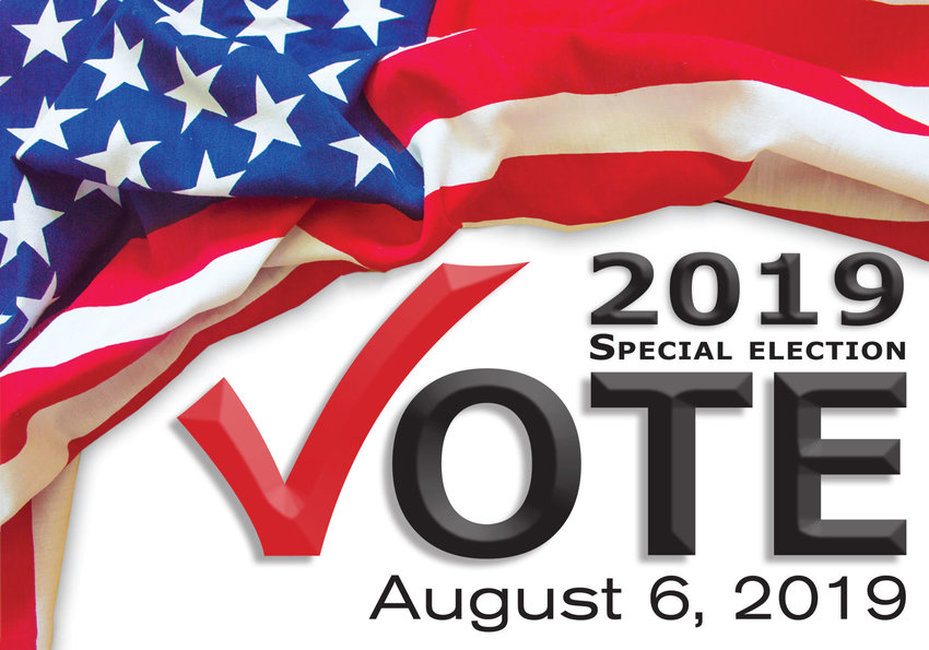 Vote Aug 6 2019 special election