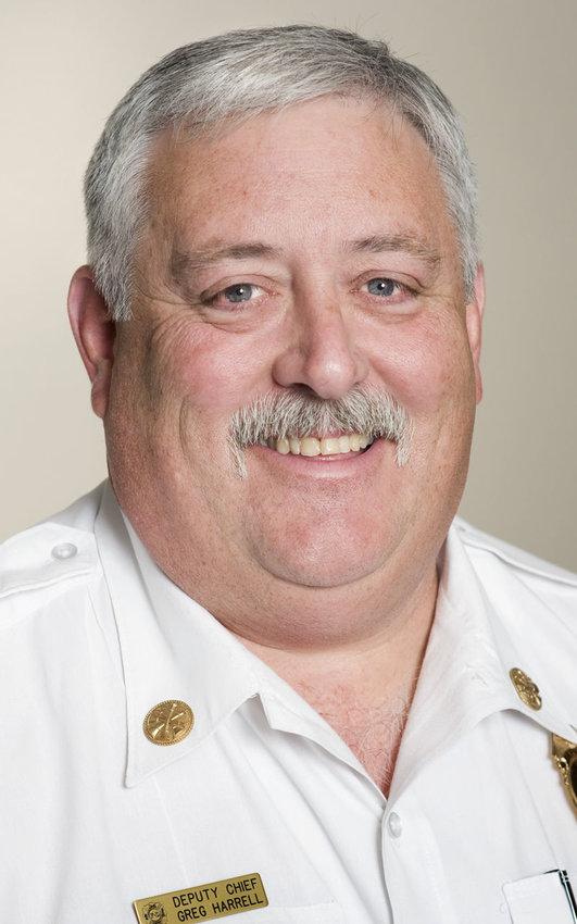 Sedalia Fire Chief Greg Harrell