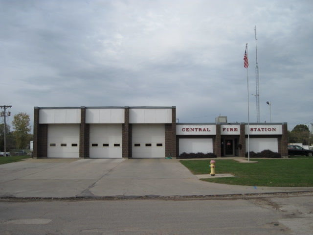 The Sedalia Fire Department Central Station is located at 600 S. Hancock Ave.