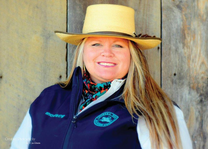 Brandy Von Holten, who owns Von Holten Ranch with her husband David Von Holten, has created a female empowerment podcast which is scheduled to launch this month.