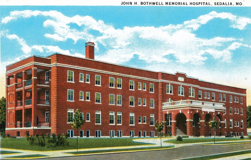 Bothwell Hospital shortly after it opened in 1930.