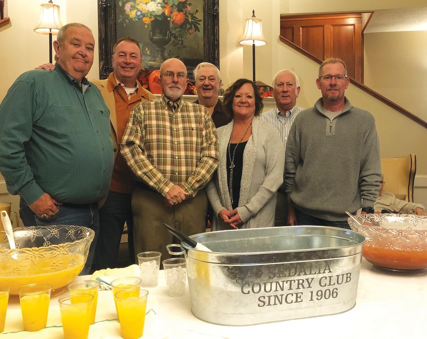 The Center for Human Services' sponsoring committee is pictured at last year's Ham Breakfast hosted at the Sedalia Country Club. From left, Ron Ditzfeld, Don Weaver, Ken Weymuth, Donna Haley, Larry Horton and Doug Haley. Not pictured is Ray Haley.