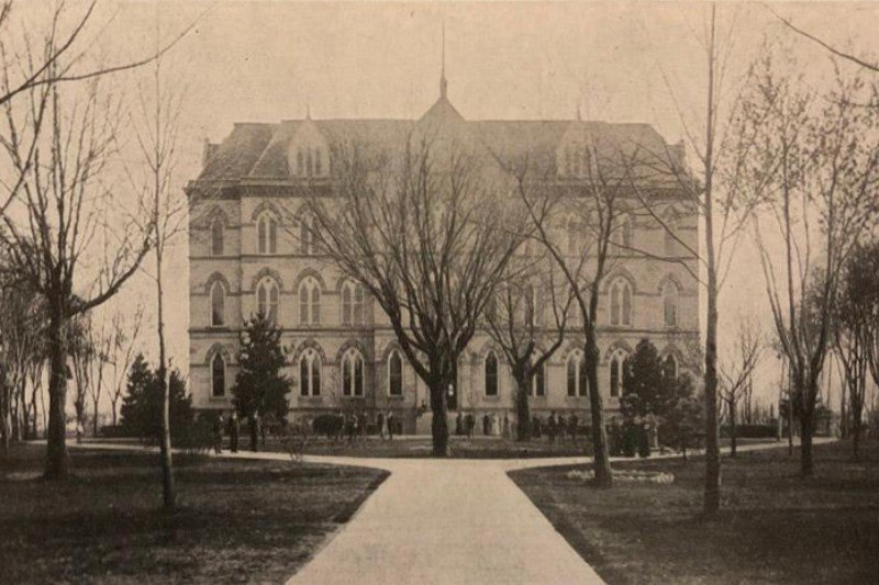 Built in 1871, the same year the University of Central Missouri was founded, Old Main was the hub of activity on campus until it was destroyed by fire in 2015.