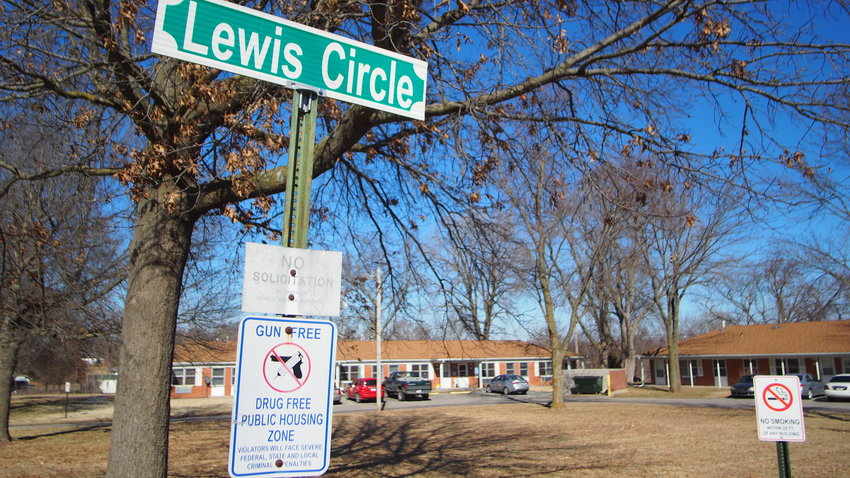 Lewis Circle and the surrounding neighborhood was rocked by gunfire Feb. 27, which injured an 18-year-old.