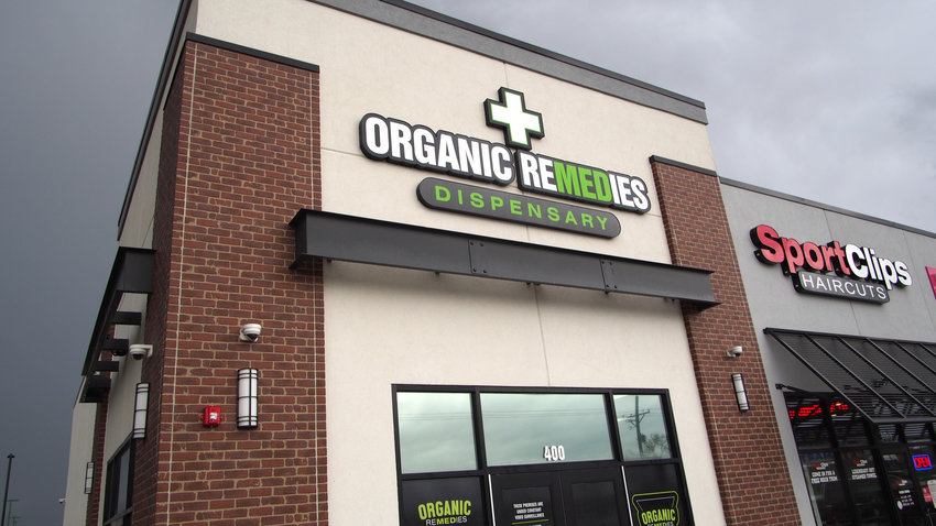Organic Remedies opened a medical marijuana dispensary Wednesday at 4401 Wisconsin Ave. The staff said they hope to be ready to dispense CBD products and medical cannabis by next week.