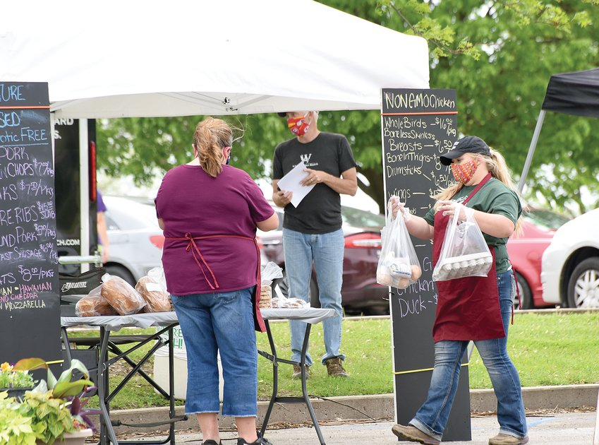 The Sedalia Area Farmers' Market will open this Friday in the new Nucor Pavilion on the Missouri State Fairgrounds.