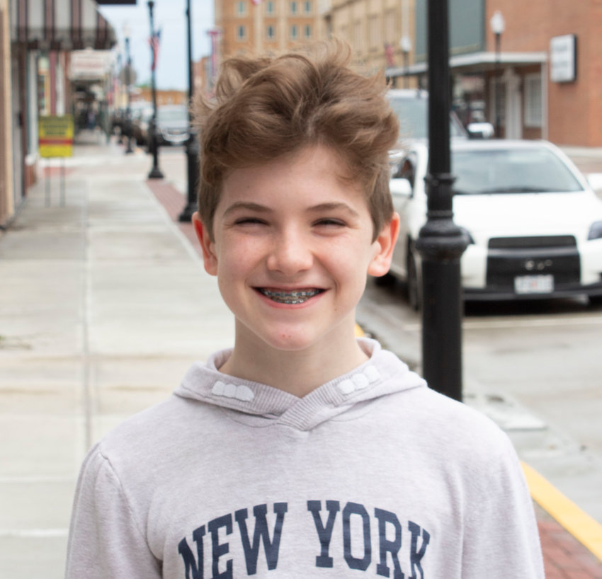 """Sacred Heart seventh-grader Thomas Jenkins was cast as Bruce in the musical """"Matilda"""" that Stage Right Performing Arts will produce for one of its summer camps."""