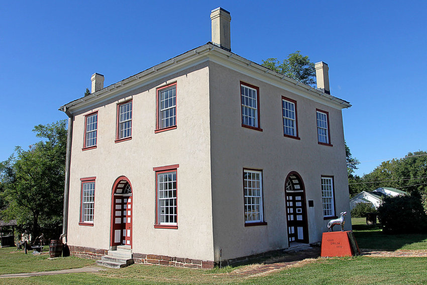 The Old Courthouse, where some of the Old Drum court action took place, stands on Johnson County Historical Society property, 302 N. Main St., Warrensburg.