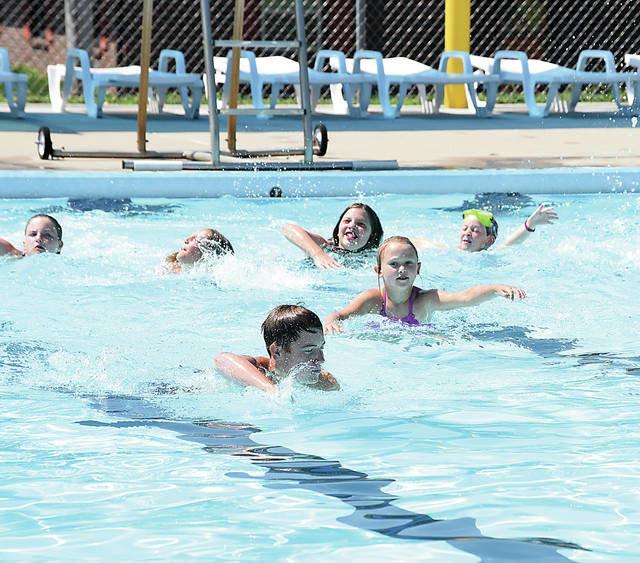 Centennial Not Liberty Pool To Open Saturday Sedalia Democrat